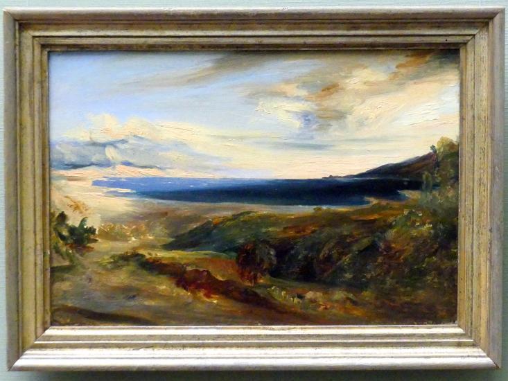 Carl Blechen: Bucht von Rapallo, um 1830