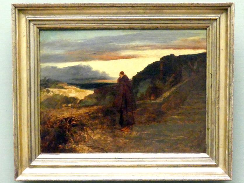 Carl Blechen: Mönch auf der Terrasse, um 1835