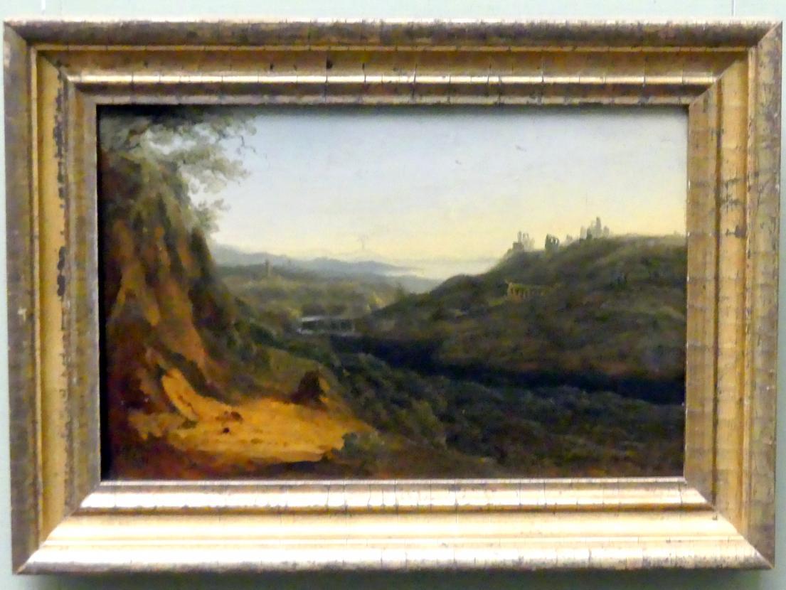 Carl Blechen: Ideale Gebirgslandschaft, 1823