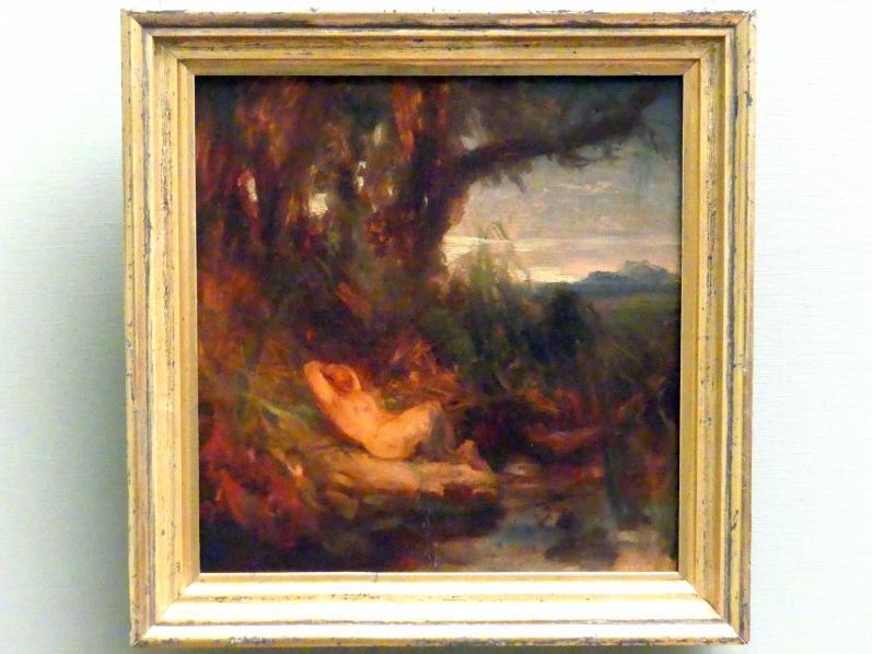 Carl Blechen: Schlafender Faun im Schilf, um 1827