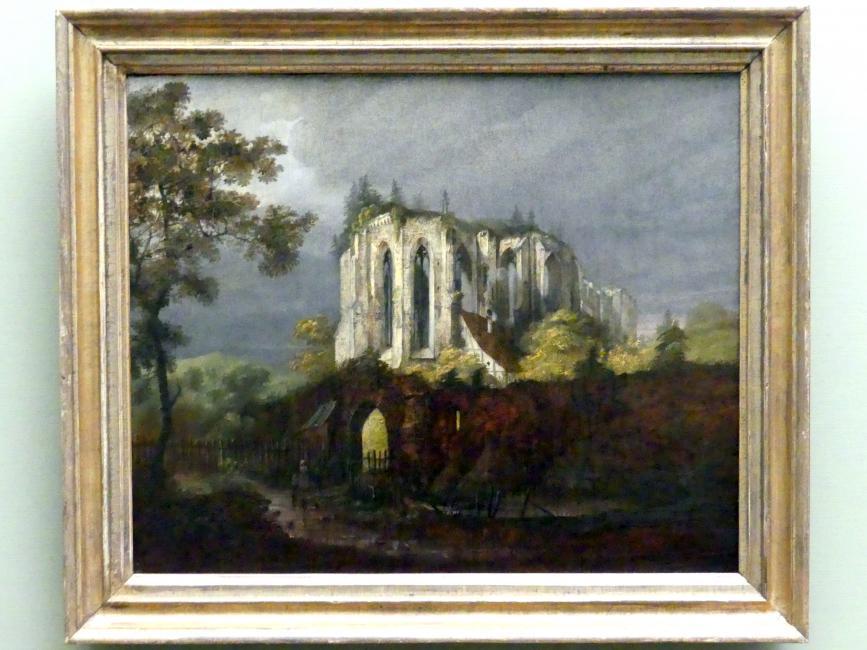 Carl Blechen: Klosterruine Oybin, um 1822