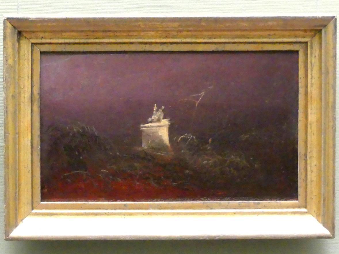 Carl Blechen: Grabmal, um 1823