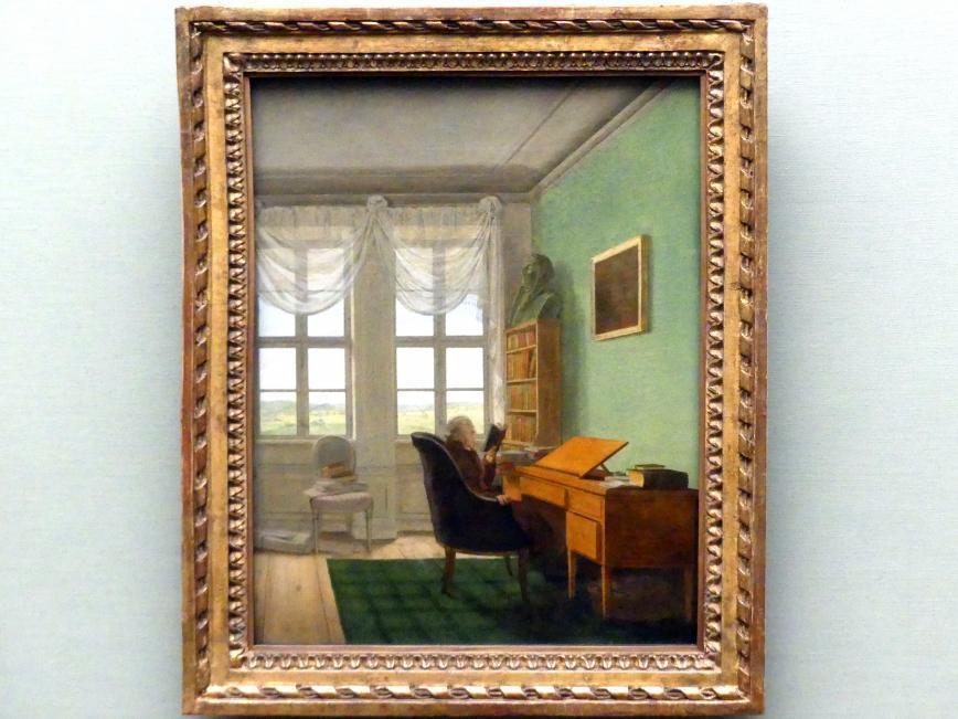 Georg Friedrich Kersting: Der Hofprediger Frank Volkmar Reinhard in seiner Studierstube, um 1811