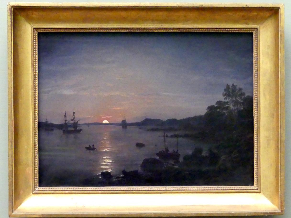 Johan Christian Clausen Dahl: Fjord bei Holmestrand, 1843
