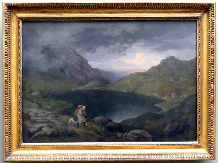 Ludwig Richter: Teich im Riesengebirge, 1839