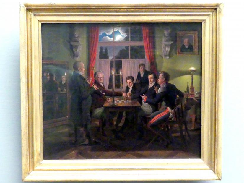 Johann Erdmann Hummel: Die Schachpartie, 1818 - 1819