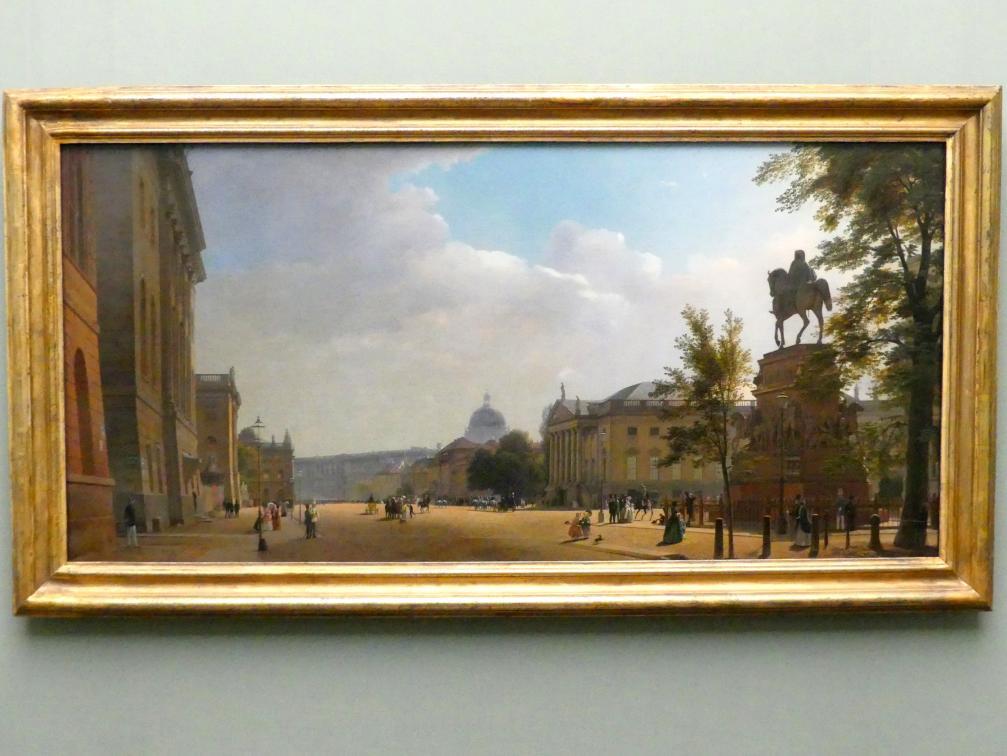 Eduard Gaertner: Unter den Linden, 1852 - 1853