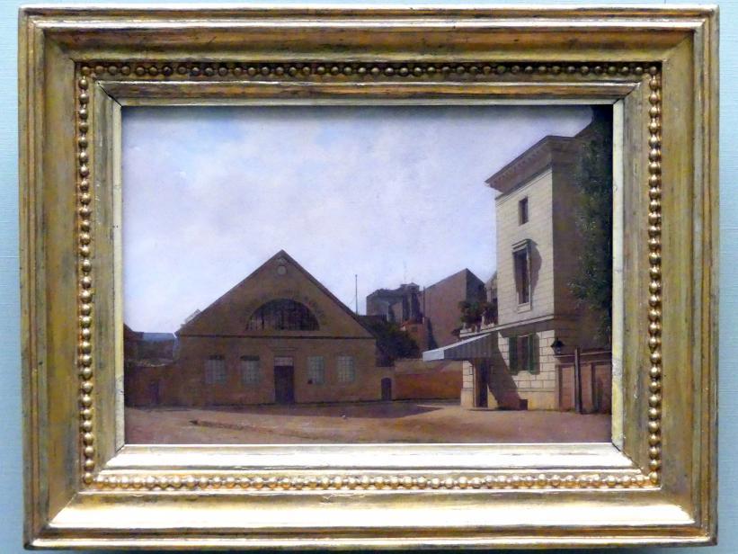 Eduard Gaertner: Das Atelier der Gebrüder Gropius in Berlin, 1830