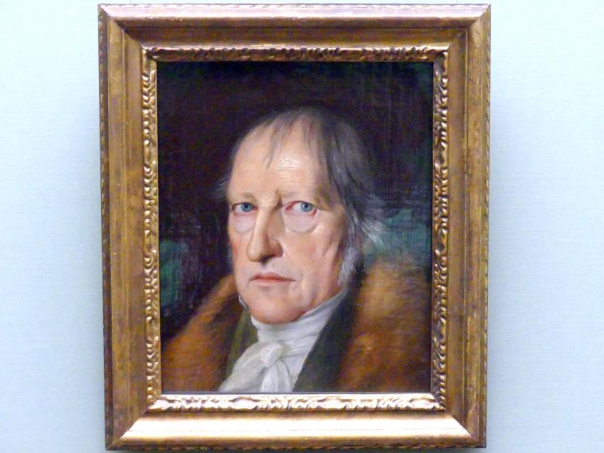 Jakob Schlesinger: Der Philosoph Georg Friedrich Wilhelm Hegel, 1831