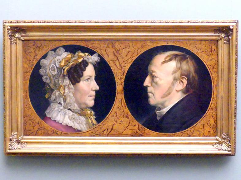 Carl Joseph Begas: Die Eltern des Künstlers, nach 1826