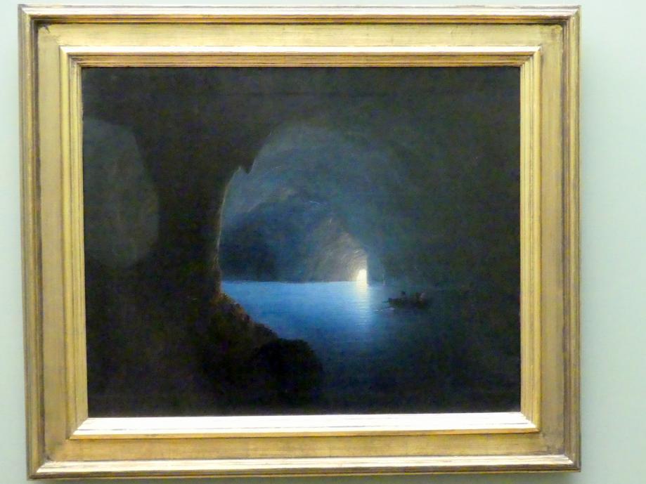 Carl Friedrich Seiffert: Die Blaue Grotte auf Capri, 1860