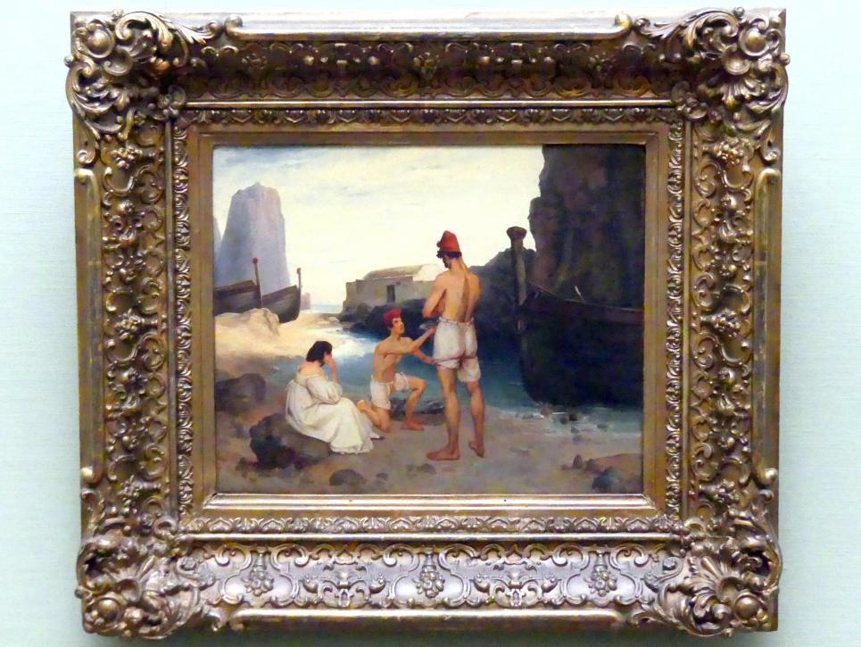 Carl Blechen: Fischer auf Capri, um 1834