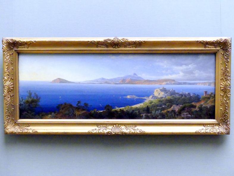 August Wilhelm Julius Ahlborn: Die Bucht von Pozzuoli bei Neapel, 1832