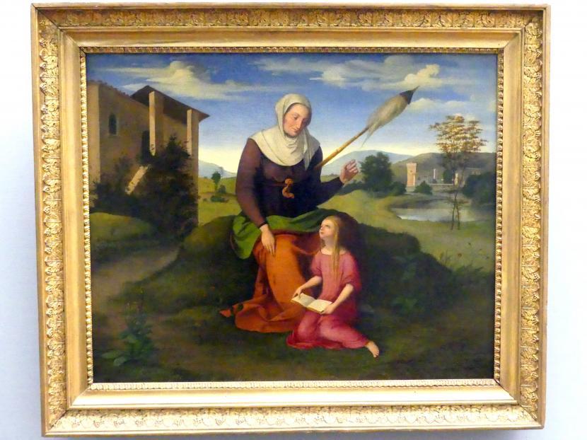 Johann Scheffer von Leonhardshoff: Die Heilige Anna und Maria, um 1815