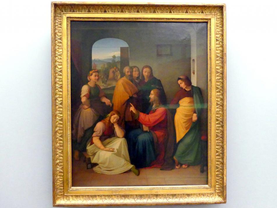 Friedrich Overbeck: Christus bei Maria und Martha, 1812 - 1816