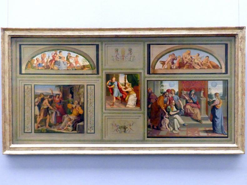 Peter von Cornelius: Wandgemälde aus der Casa Bartholdy in Rom, 1818