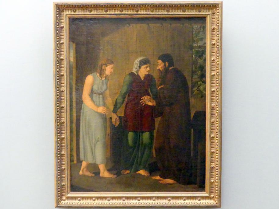 Josef Wintergerst: Zuführung der Hagar, 1809