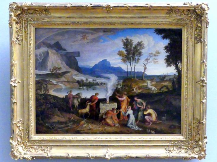 Joseph Anton Koch: Noahs Dankopfer, 1814