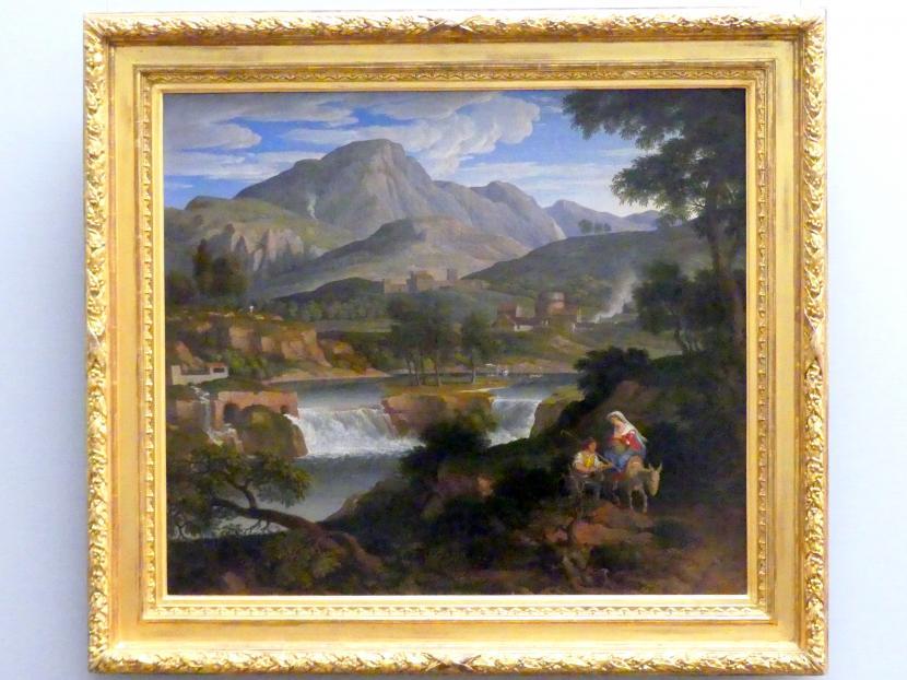 Joseph Anton Koch: Wasserfälle bei Subiaco, 1812 - 1813