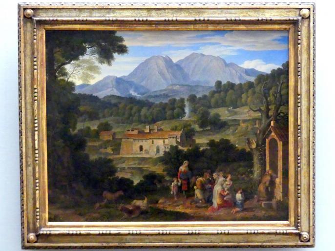 Joseph Anton Koch: Kloster San Francesco di Civitella, 1814