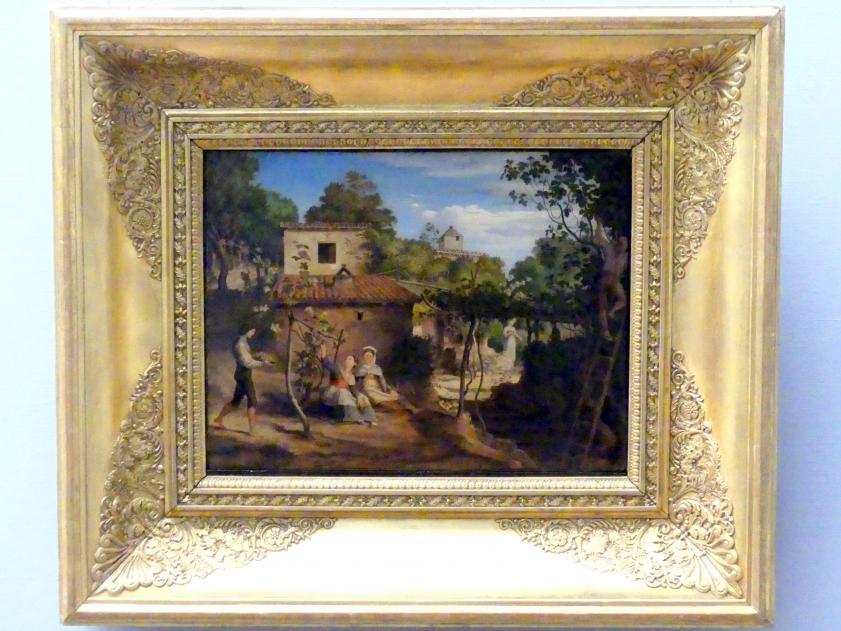 Ferdinand Johann von Olivier: Der Weingarten des Erzpriesters in Olevano, 1832