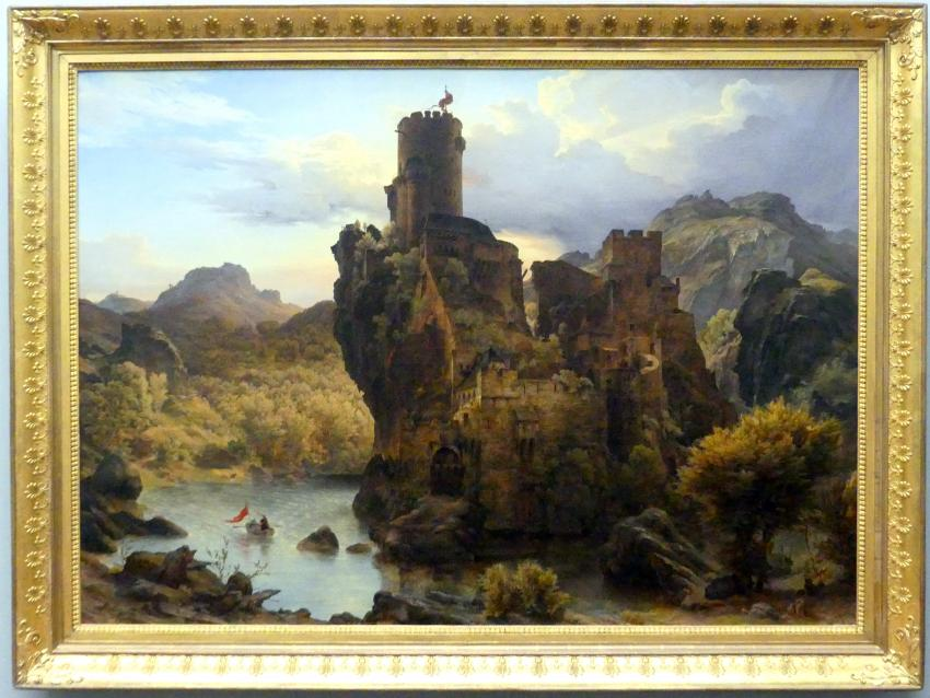 Carl Friedrich Lessing: Ritterburg, 1828