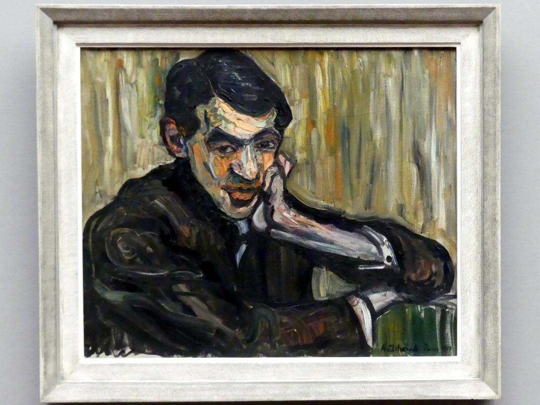 Augusta von Zitzewitz: Bildnis des Malers Jules Pascin, 1913