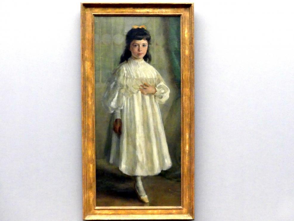 Sabine Lepsius: Kinderbildnis (Margarete Catharina Litten), 1895