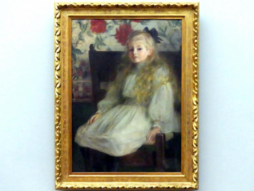 Dora Hitz: Bildnis eines kleines Mädchens, vor 1897