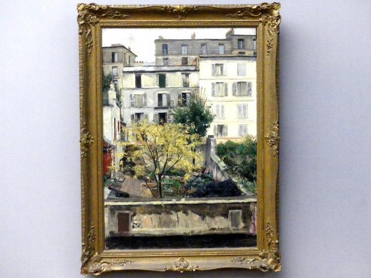 Maria Slavona: Häuser am Montmartre, 1898