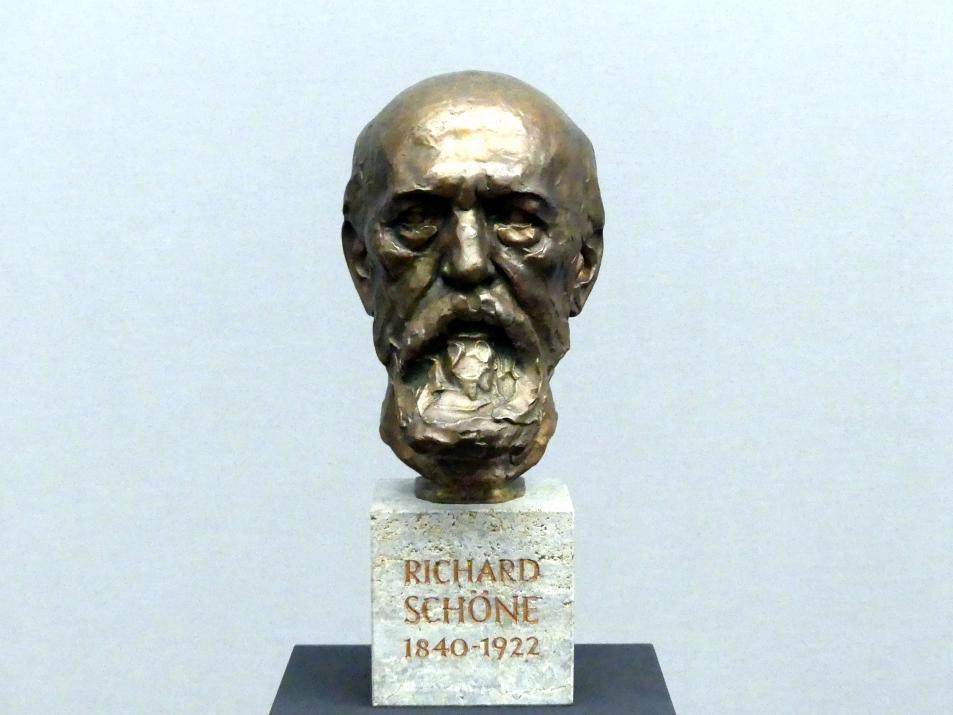 Johanna Schöne: Bildnis Richard Schöne, um 1911