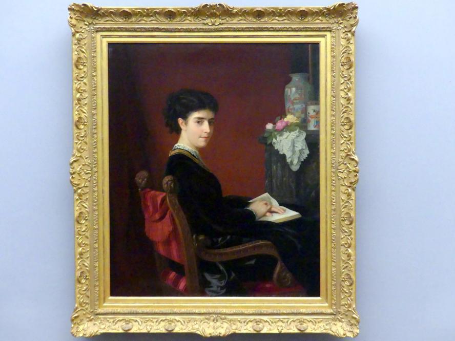 Antonie Volkmar: Bildnis der Marianne Beschütz, verh. Perl, 1868