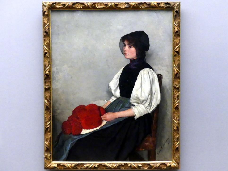 Alma Erdmann: Schwarzwälderin, 1899