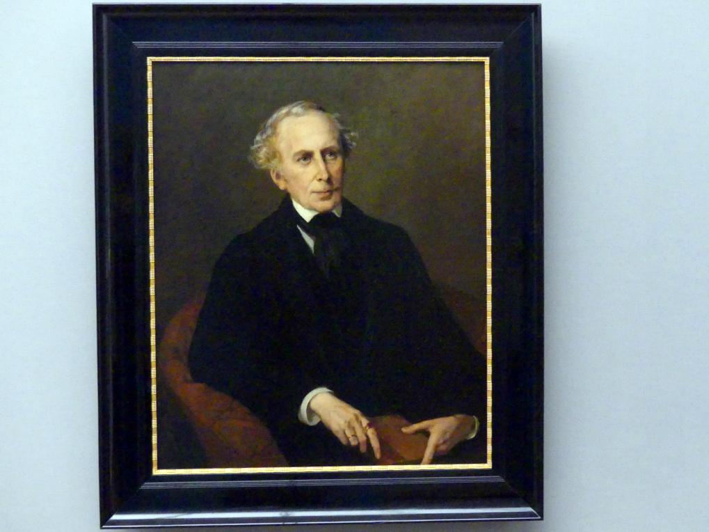 Marie Elisabeth Wiegmann: Bildnis des Kunsthistorikers Carl Schnaase, 1861