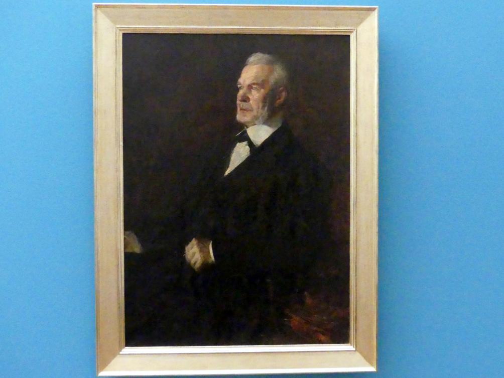 Linda Kögel: Der Vater der Künstlerin, 1859