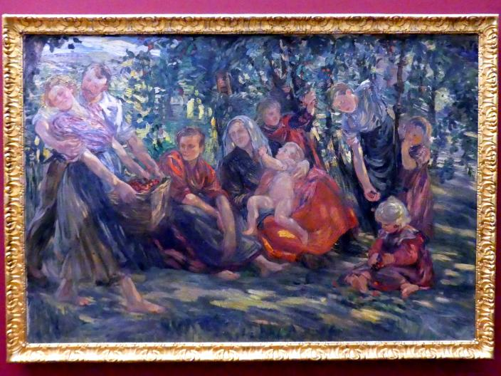 Dora Hitz: Kirschenernte, vor 1905