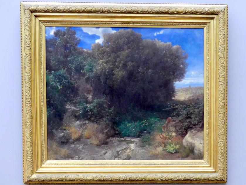 Arnold Böcklin: Campagna-Landschaft, um 1859