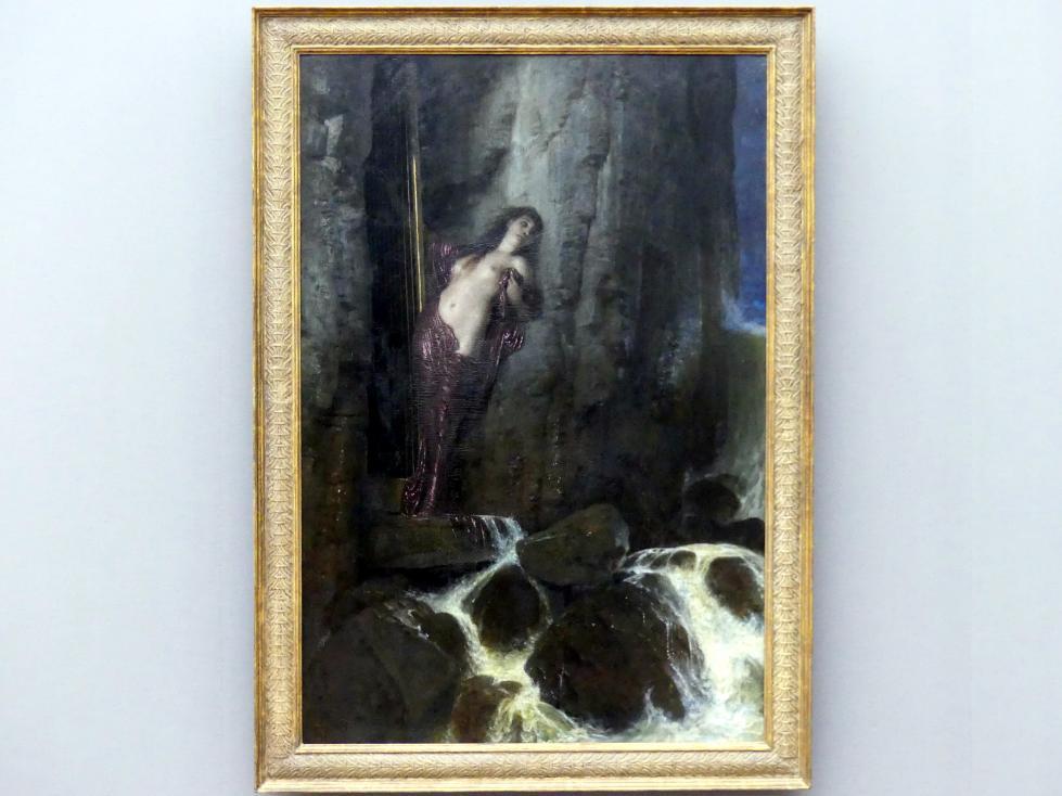 Arnold Böcklin: Meeresbrandung (Der Schall), 1879