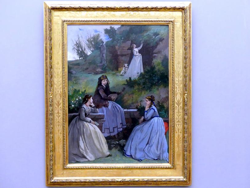Anselm Feuerbach: Frühlingsbild, 1868