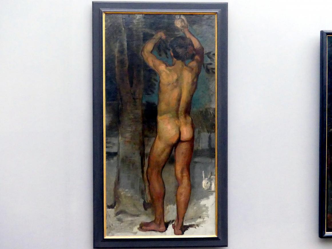 Hans von Marées: Orangenpflücker, 1873