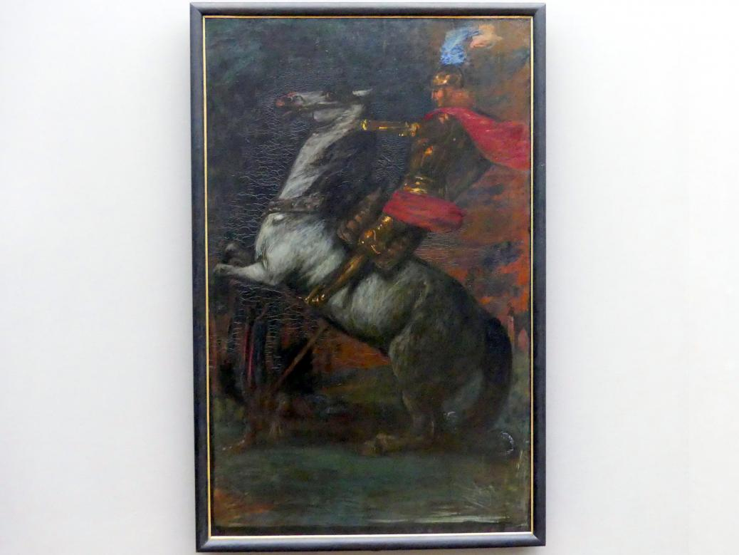 Hans von Marées: Der Heilige Georg, 1880 - 1882