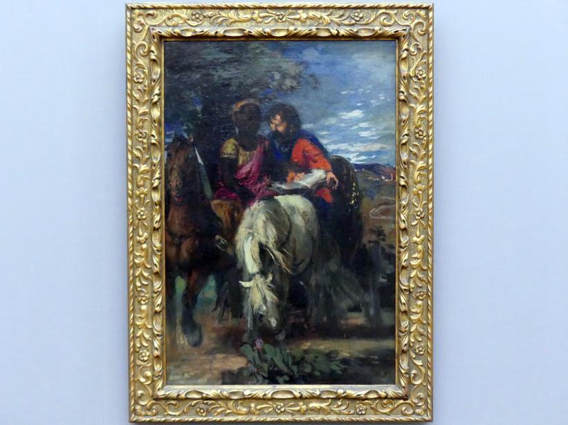 Hans von Marées: Philippus und der Kämmerer, 1869 - 1870