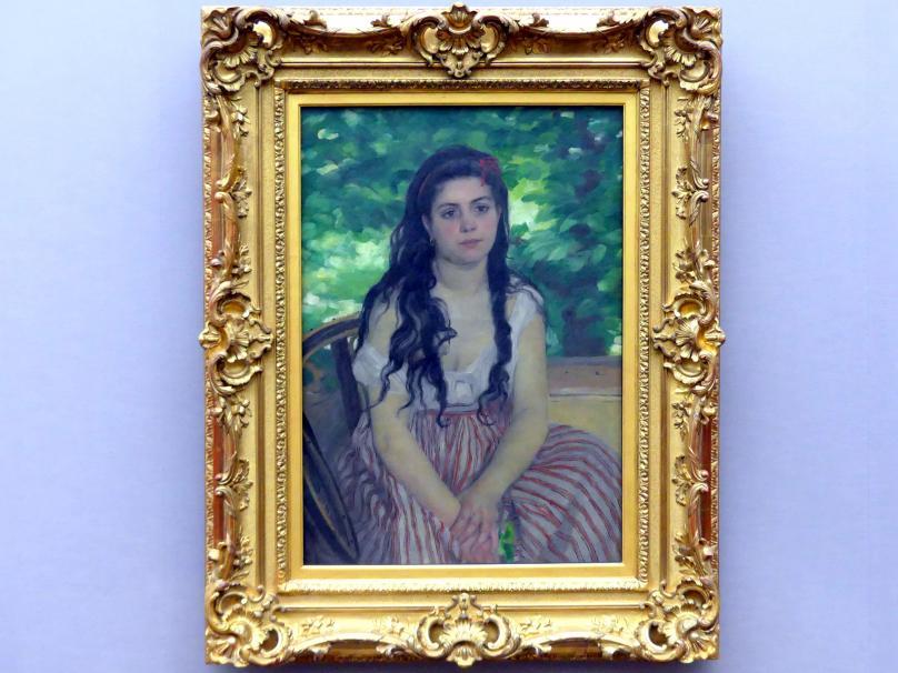 Auguste Renoir (Pierre-Auguste Renoir): Im Sommer, 1868