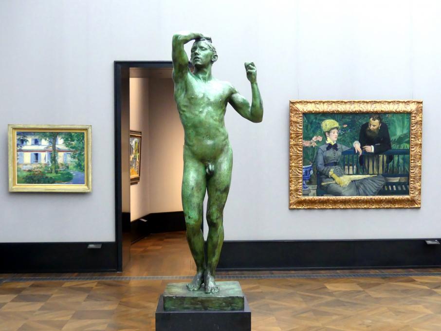 Auguste Rodin: Das Eherne Zeitalter, 1875 - 1876
