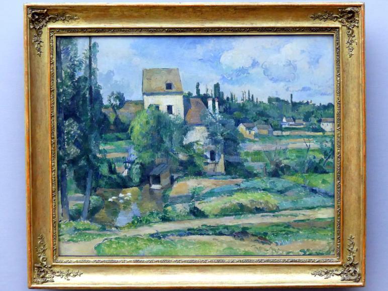 Paul Cézanne: Mühle an der Couleuvre bei Pontoise, 1881