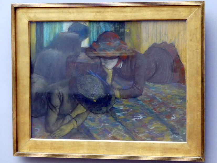 Edgar Degas: Unterhaltung, um 1883