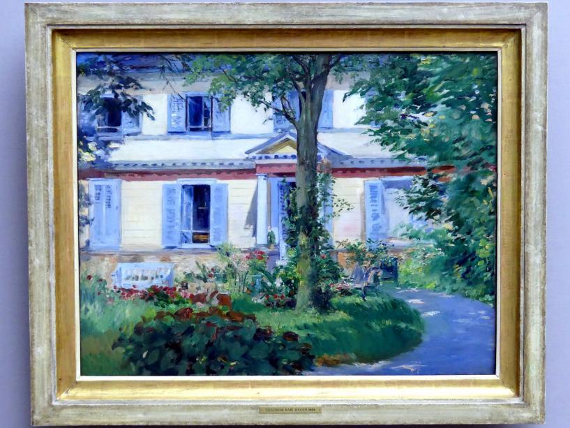 Édouard Manet: Landhaus in Rueil, 1882