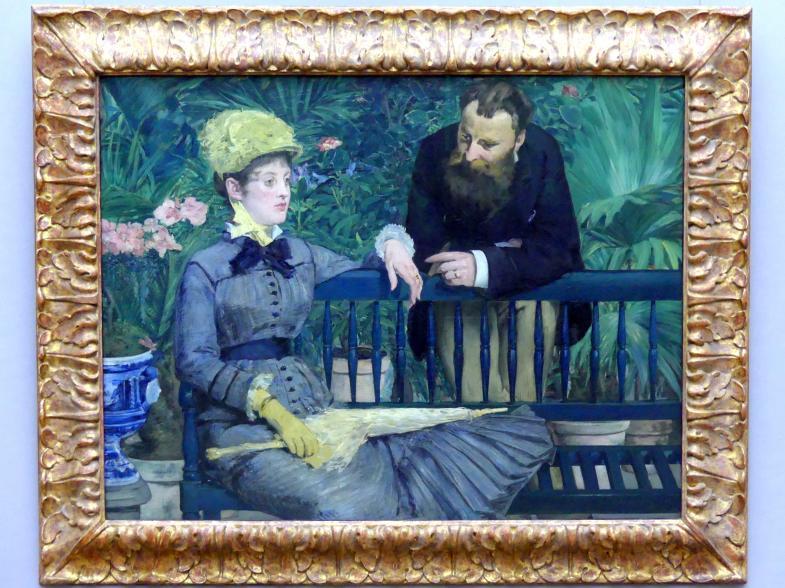 Édouard Manet: Im Wintergarten, 1879