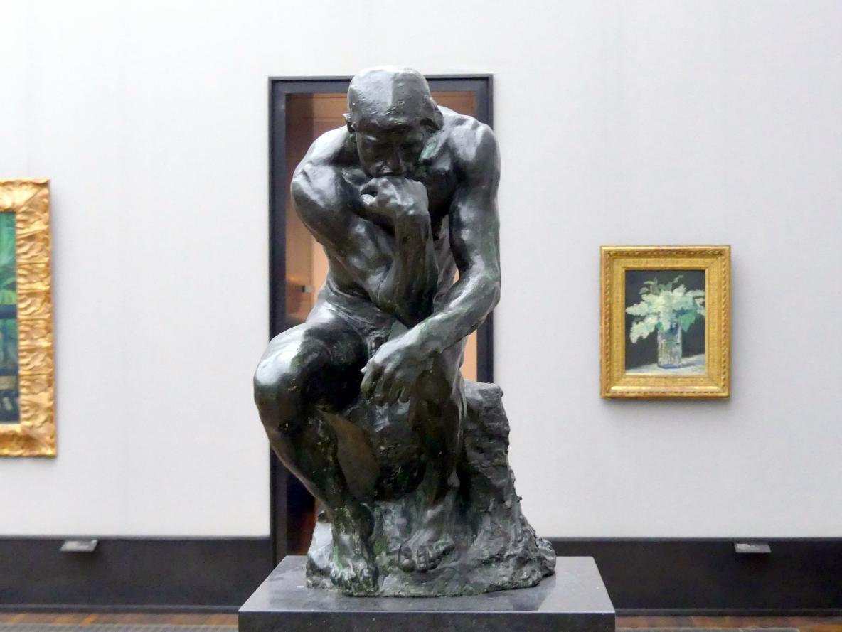 Auguste Rodin: Der Denker, 1881 - 1883