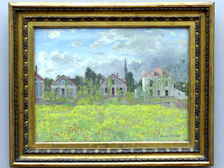 Claude Monet: Häuser in Argenteuil, 1873